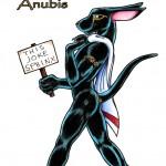 A Nudist Anubis