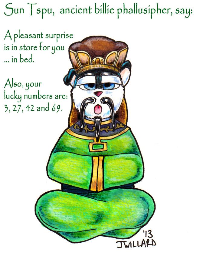 Sun Tspu (or Cumfucius Say....)